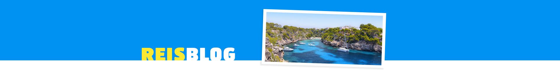 Mallorca blauwe zee